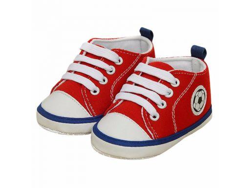 Buciki butki buty z piłką 6-9 m 12*