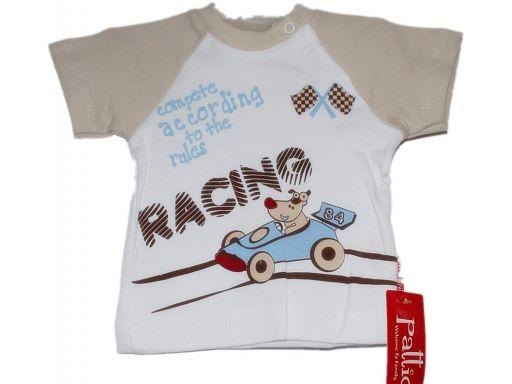Pattic* - bluzeczka dla chłopca wyścigi - 62 cm