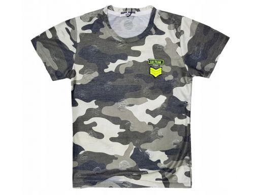 Bluzka moro t-shirt hunter r 12 - 146/152 grey