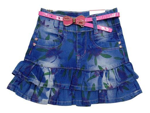 Spódnica mini jeans emily r 4 - 104 cm