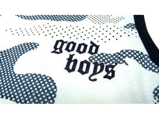 Top moro bluzka good boys 14 ok. 158/164 white