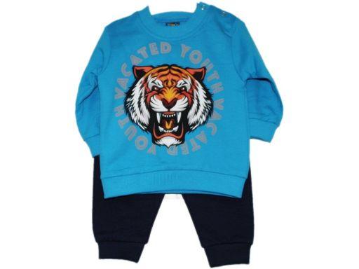 Rilaxy śliczny komplet dres tygrys - 12 m