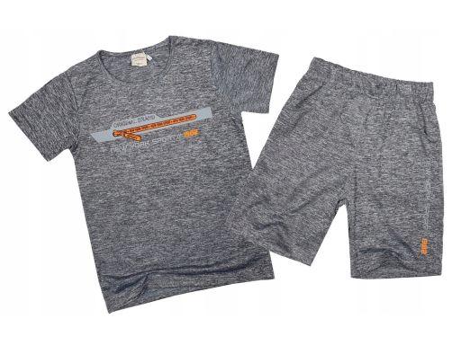 Komplet wiosenny letni brand fit r 140 orange