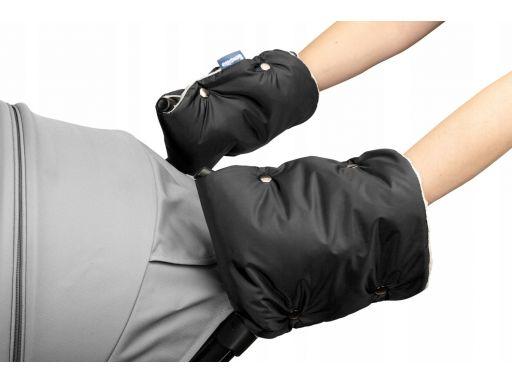 Sensillo rękawiczka mufka do wózka minky black