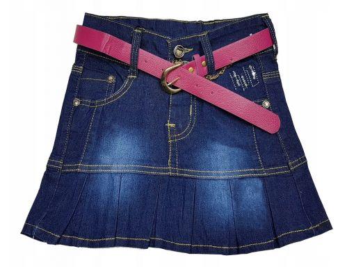 Spódnica mini jeans ramona r 116 cm
