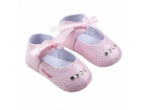 Przepiękne buciki diamencik chrzest 6-12 m 12*