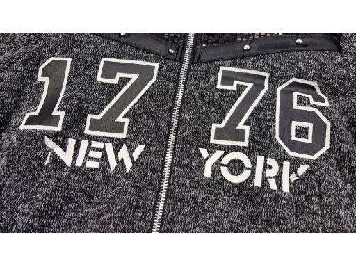 Ciepły dres new york r 10 ok. 134 cm dark