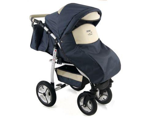 Sport gt wózek spacerowy torba+folia+uchwyt+siatka
