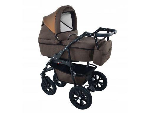 Wózek wielofunkcyjny bavario 3w1 brown nowość