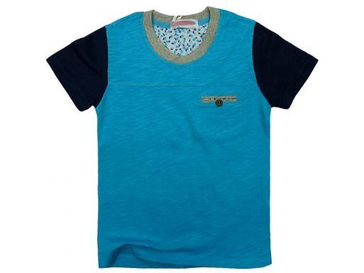 T-shirt super bluzka roger 6 ok. 110/116 blue