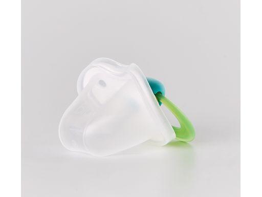 Smoczek bibi anatomiczny lovely dots zielony 6+