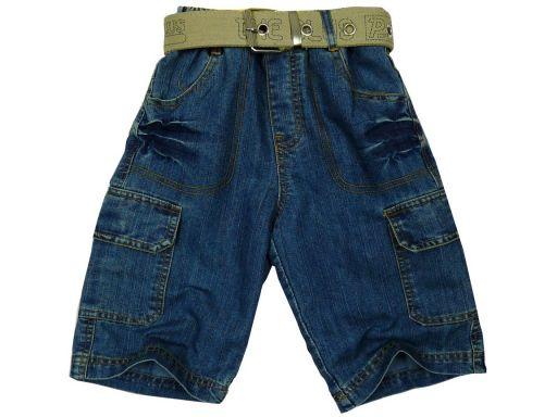 Szorty bermudy jeans orion 6 ok. 110/116 cm