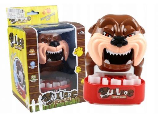 Gra zręcznościowa gryzący bulldog happy game