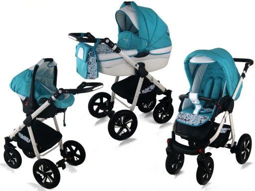 Nexxo 3w1 polski wózek nowa kolorystyka