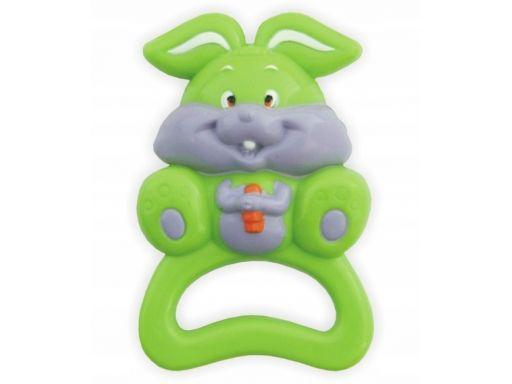 Grzechotka plastikowa baby-mix królik