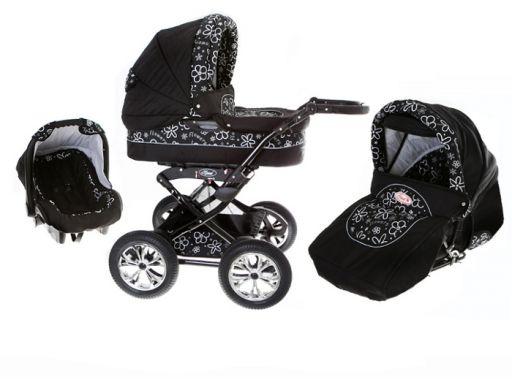 Polaris 3w1 wózek wielofunkcyjny gratisy dodatki