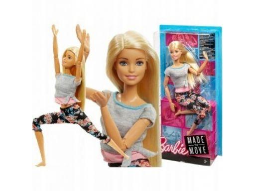 Barbie lalka made to move gimnastyczka 3+ ftg81