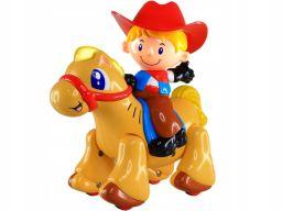 Dumel galopujący koń konik interaktywny jeździ