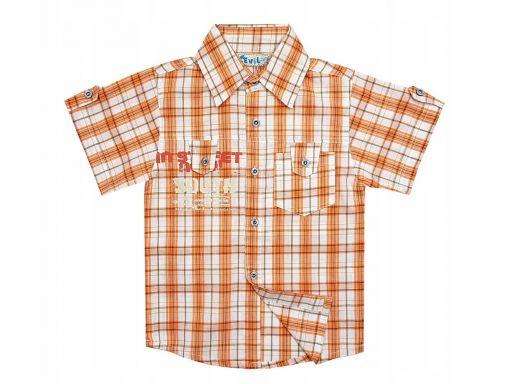 Koszula in street r 4 - 104/110 cm orange + gratis