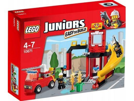 Lego juniors 10671 alarm pożarowy straż unikat
