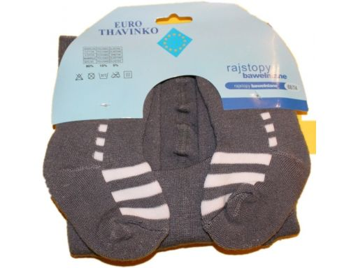 Thavinko * rajstopy ciepła frotka 68-74 cm