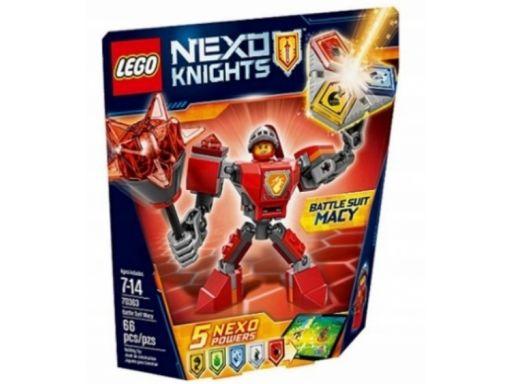 Lego nexo knights 70363 zbroja macy okazja unikat