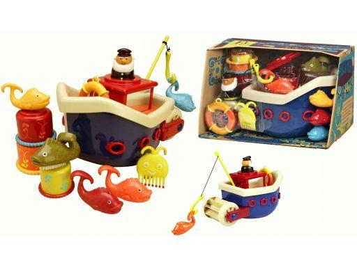B. toys zesatw do kąpieli statek z akcesoriami