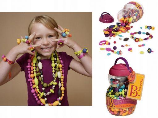 B.toys zestaw do tworzenia biżuterii 500 elem.