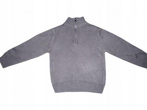Hihawo sweterek bawełniany czarny r.92 *6043