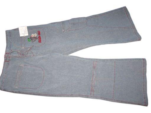 Kiddie club spodnie rybaczki metka r.140 | *1489