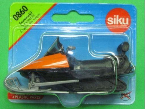 Siku skuter śnieżny ratowniczy na płozach 0860