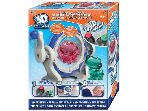 Epee 3d magic fabryka 3d zestaw spinner zwierzaki