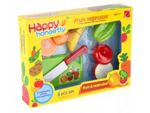Owoce do krojenia rzepy zestaw kuchnia nóż deska
