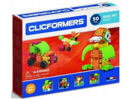 Clicformers zestaw klocków konstrukcyjnych 50 el.
