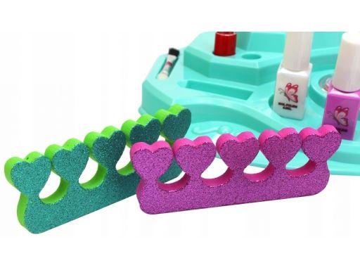 Zestaw piękności toaletka do stylizacji paznokci