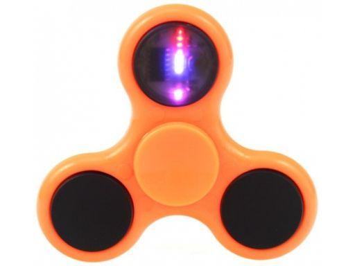 Oryginalny hand fidget spinner spiner led świecący