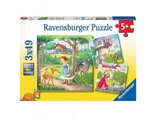 Ravensburger puzzle 3x49 bajki braci grimm 080519