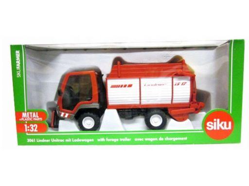 Siku 3061 transporter lindner z przyczepą