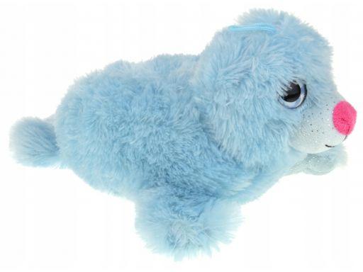 Maskotka pluszowa puchata foka foczka 14 cm