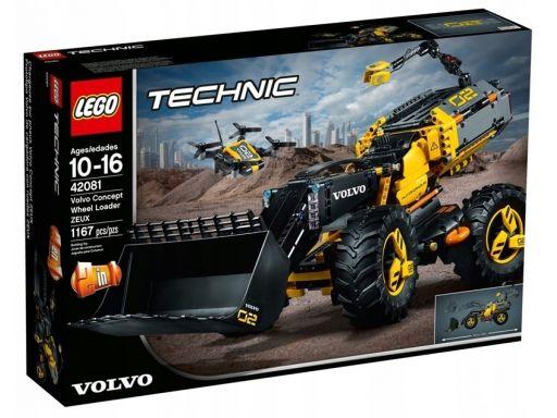 Klocki lego technic volvo ładowarka kołowa 42081