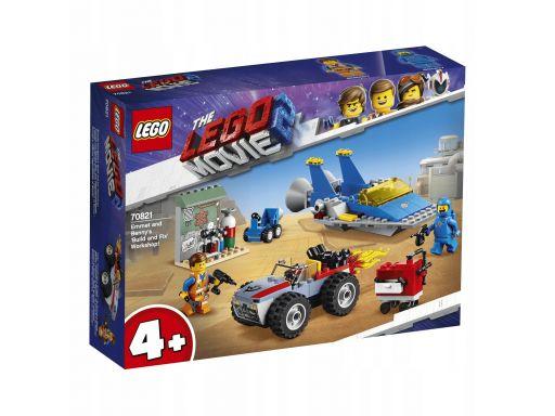 Klocki lego movie warsztat emmeta i benka 70821
