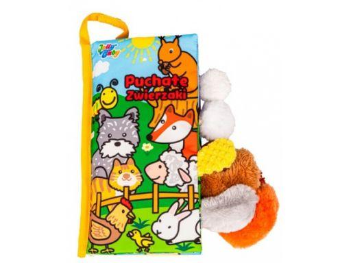 Balibazoo jolly baby książeczka puchate zwierzaki