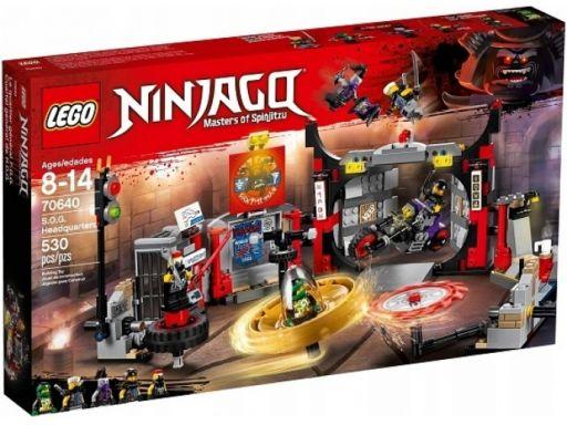 Lego ninjago 70640 kwatera główna s.o.g. sklep