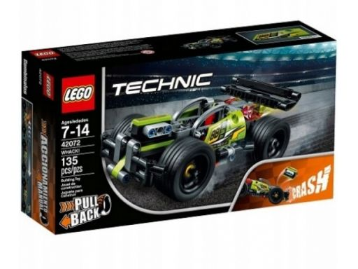 Lego technic 42072 żółta wyścigówka okazja sklep