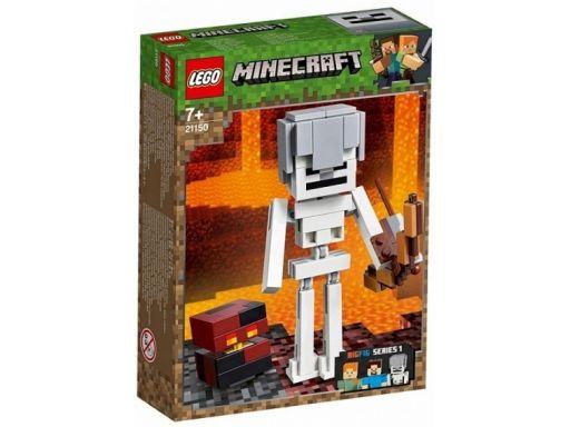 Lego minecraft 21150 szkielet z kostką magmy sklep