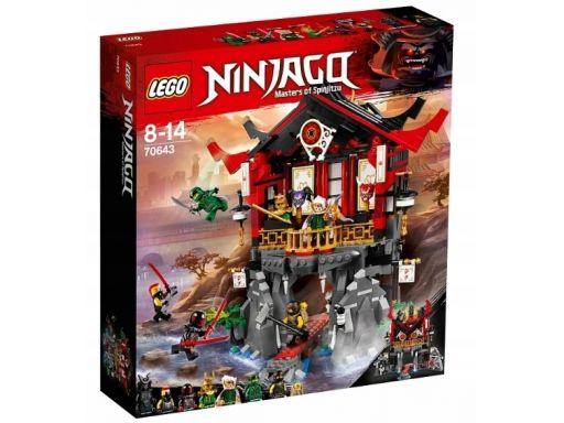 Lego ninjago 70643 świątynia wskrzeszenia unikat