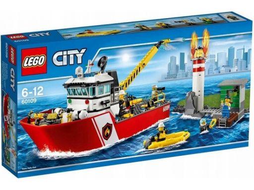 Lego city 60109 łódź strażacka unikat okazja sklep