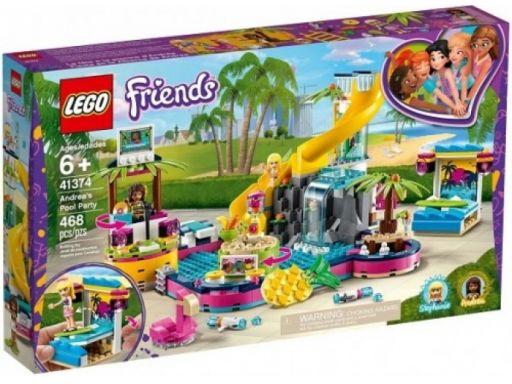 Lego friends 41374 impreza andrei na basenie sklep