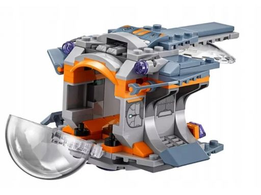 Lego marvel kapsuła ratunkowa pojazd z 76102