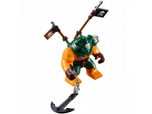 Lego figurka dogshank + broń z zestawu 70604